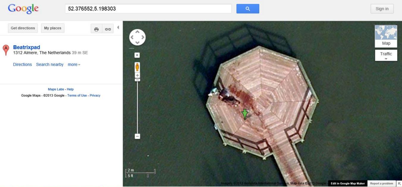 Murder scene caught on Google Maps? on