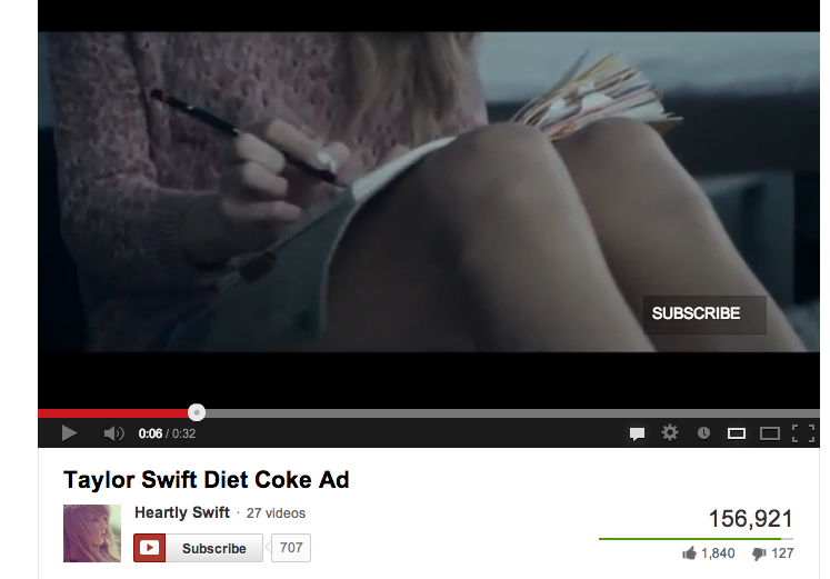 Taylor Swift Has No Idea How To Hold A Pencil.