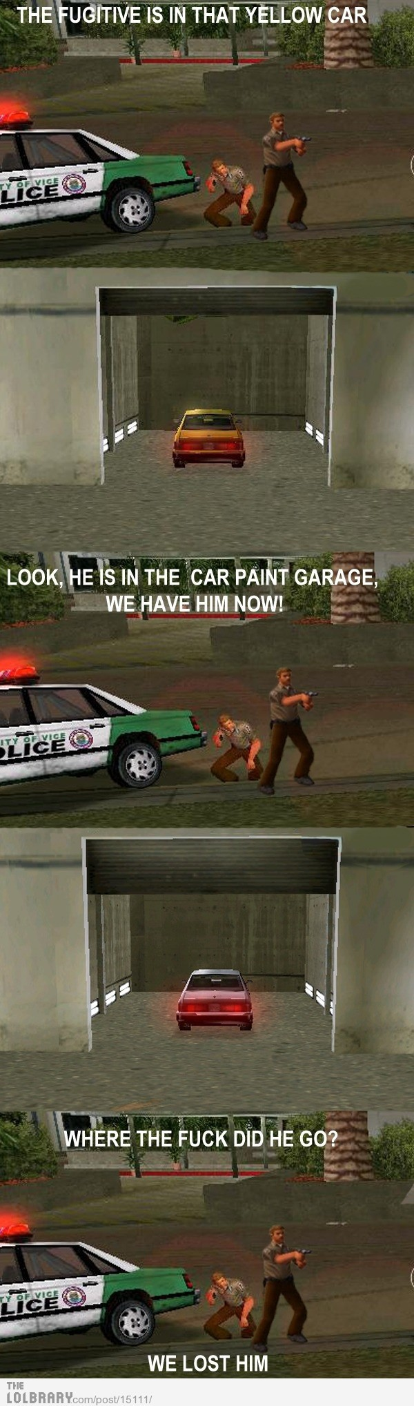 GTA Vice City logic