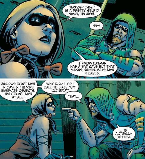 Silly Green Arrow..