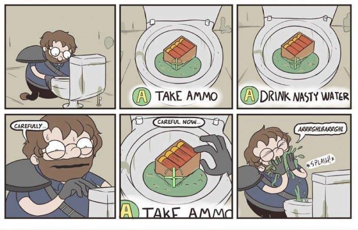 Fallout logic.