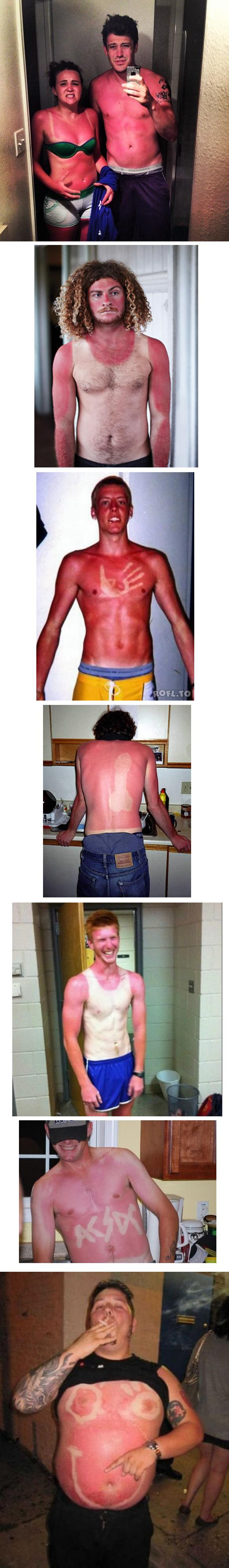 White people summer problems