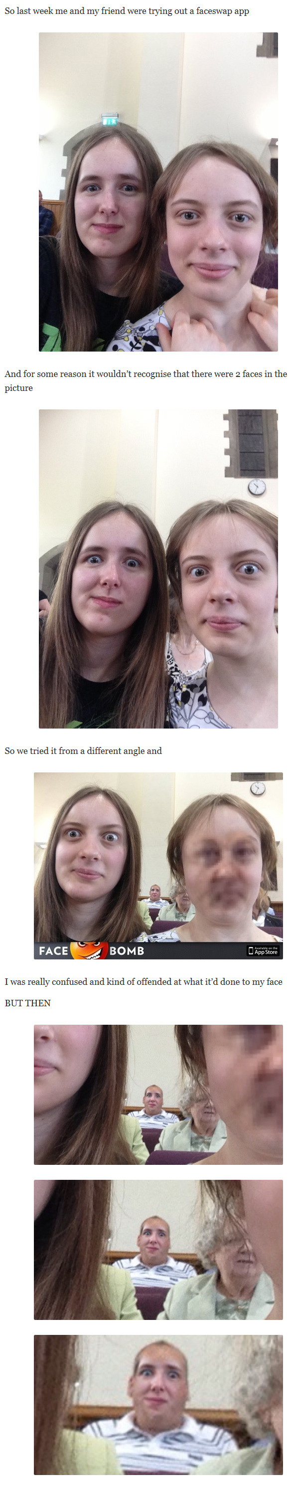 Damn you faceswap! XD