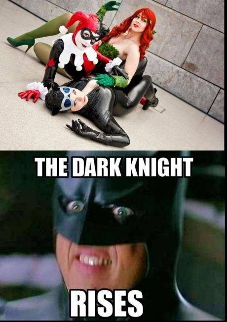 bane and catwoman relationship memes