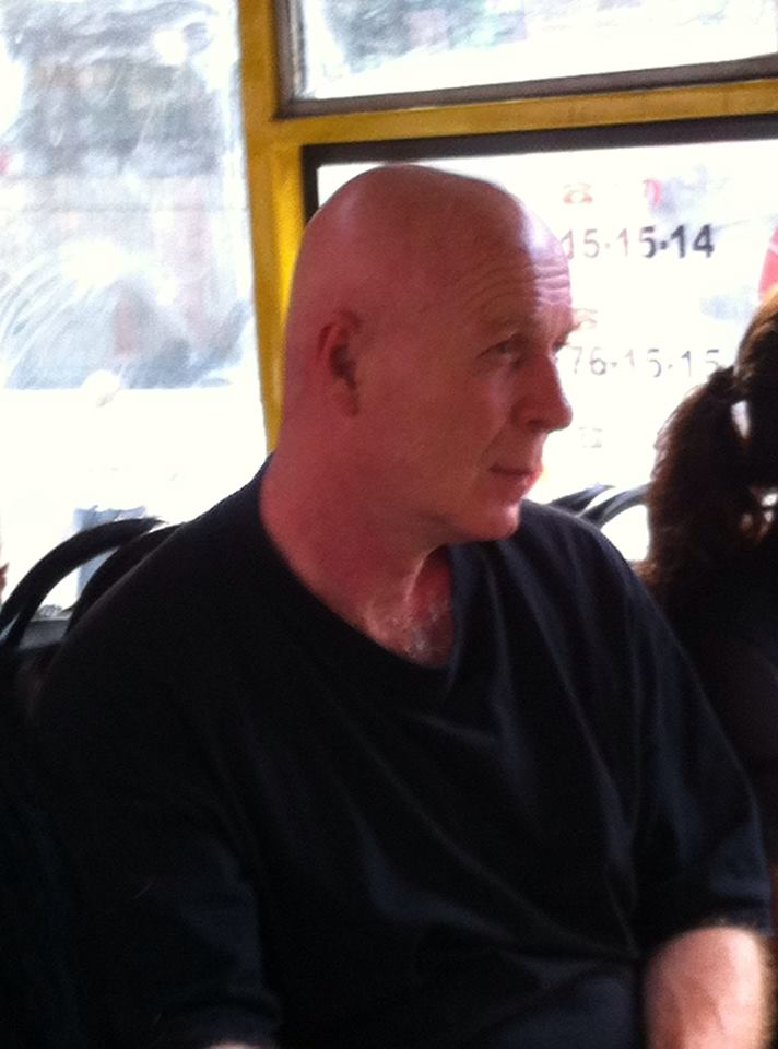 Today i saw Bruce Willis in Tbilisi's Bus