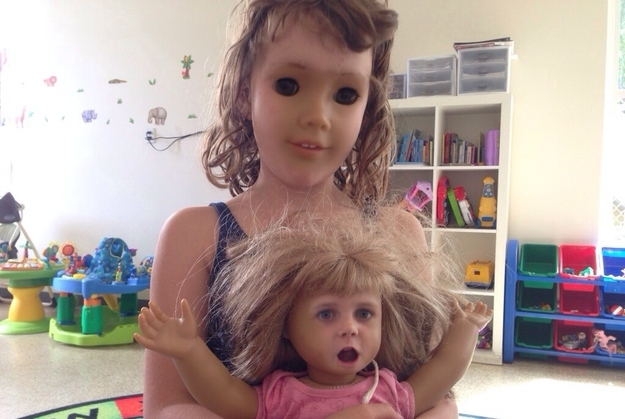 Scariest face swap