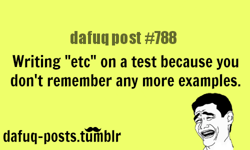 Every test ever