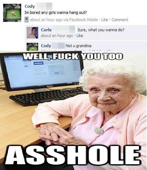 Fuck You Grandma 82