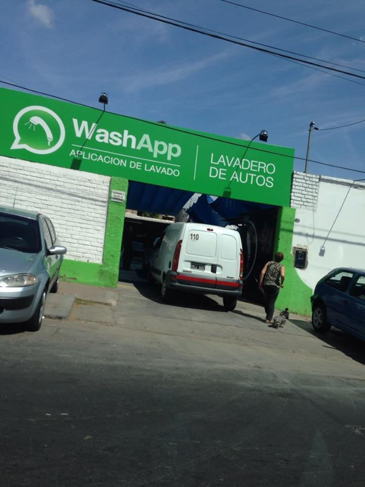 A car wash in Argentina...