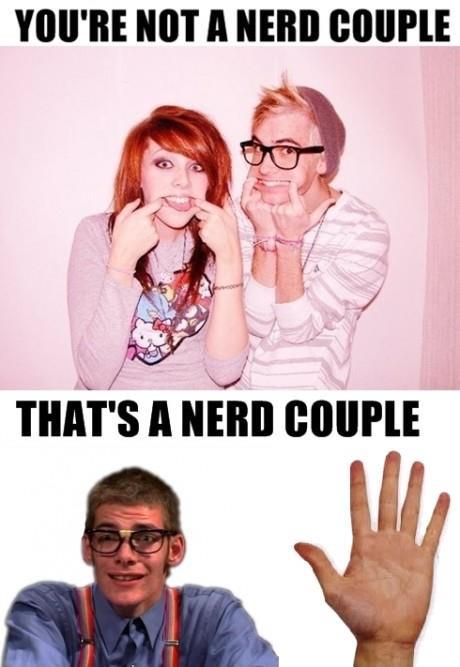 Nerd couple?