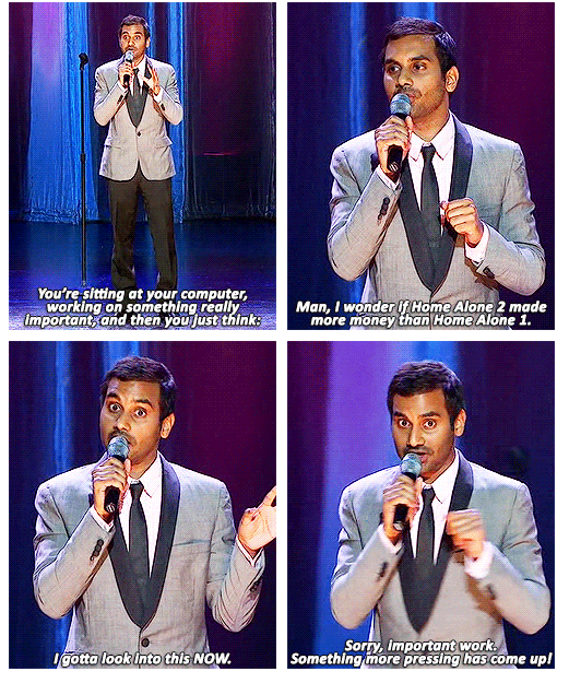 just Aziz Ansari