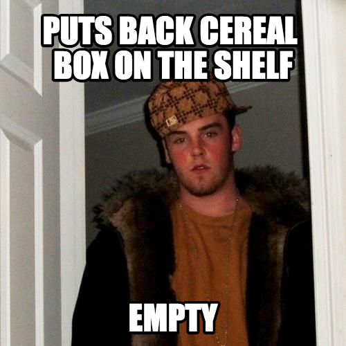Such False Hope For When You Want Cheerios