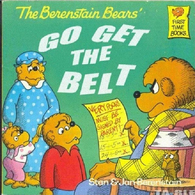 "Followed by the equally riveting ""The Bernstein Bears Go Into Foster Care"""