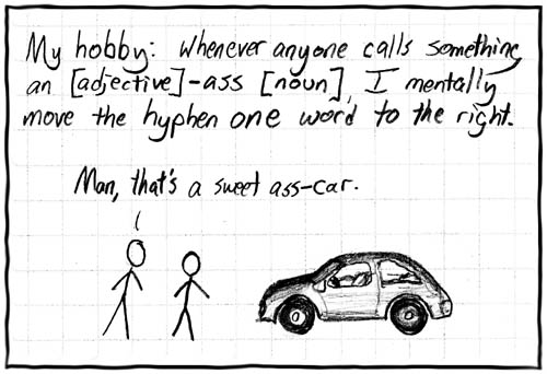 XKCD has made my life 1000% more amusing