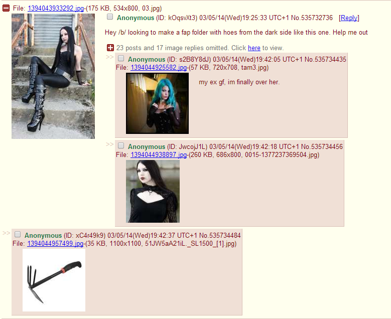 Hoes in /b/