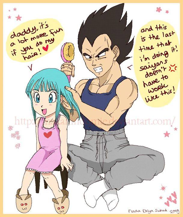 Vegeta Is A Good Father-4736