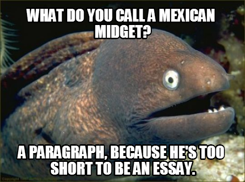 Racist essay