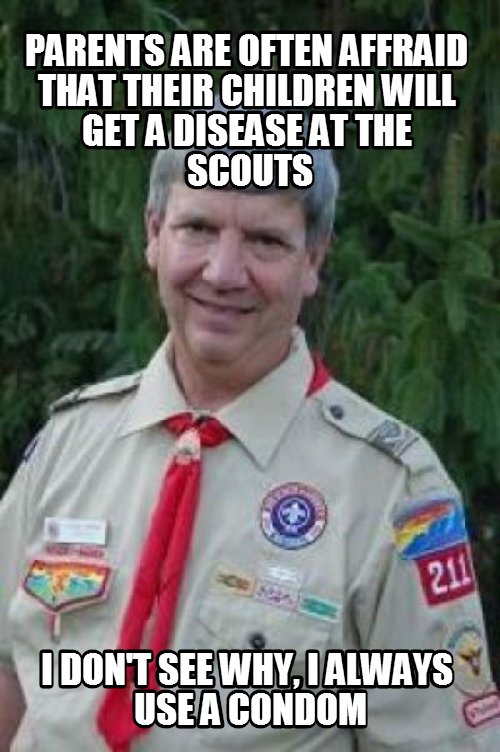 scoutleader stan has wise words