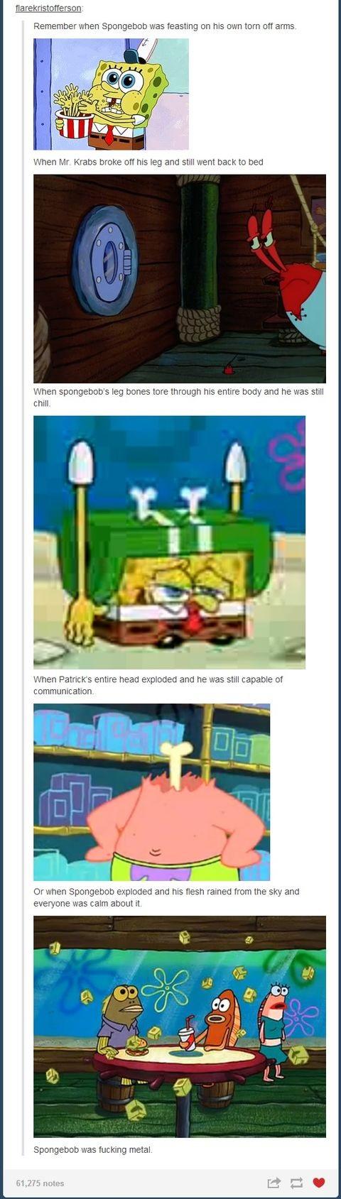Spongebob Was Metal