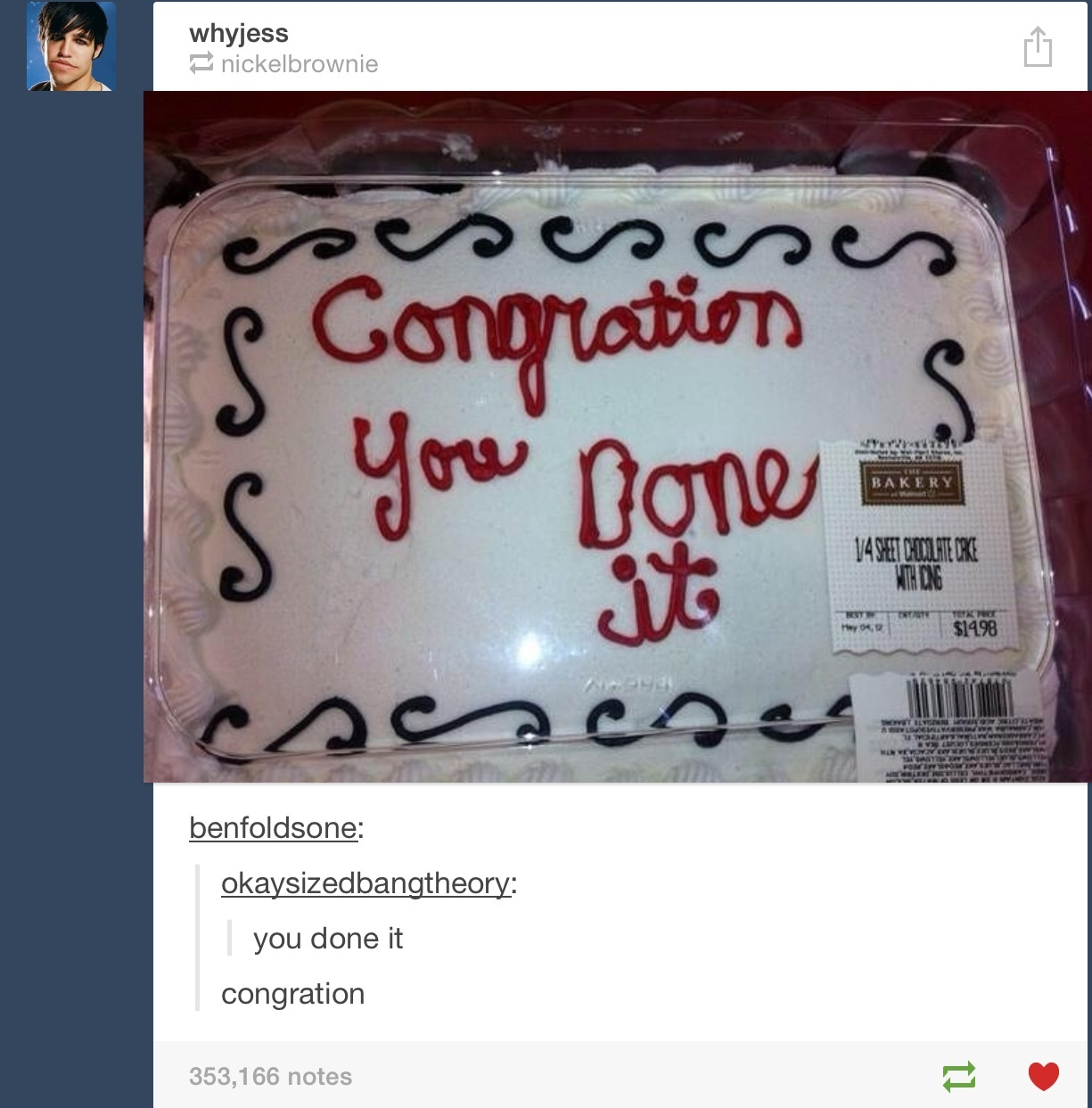 Congration!