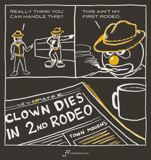 Dies In Clown Rodeo 2nd