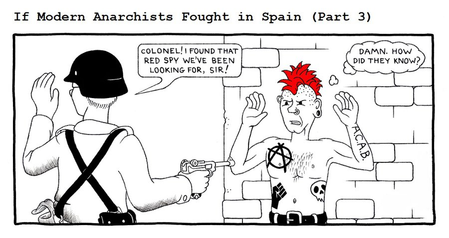 I think it's obvious why the Spainsh Republic lost the civil war
