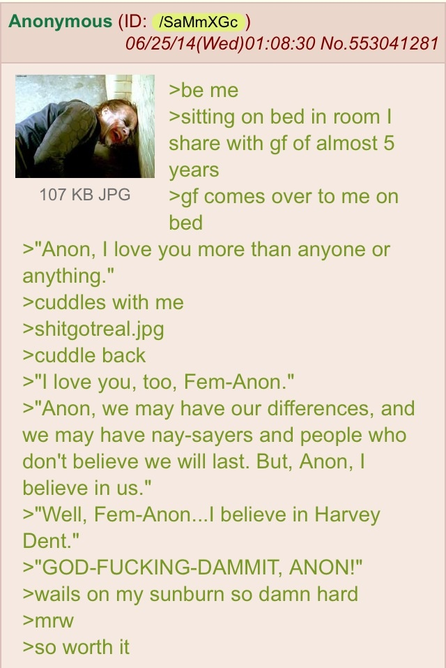 Anon and his GF