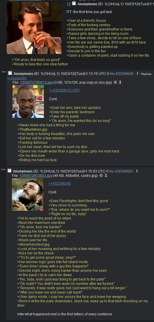 This guy got too lucky...Not your typical /b/eta