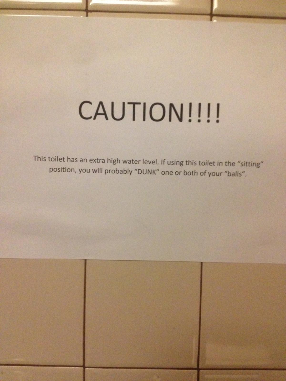 Sign In Men S Bathroom Stall