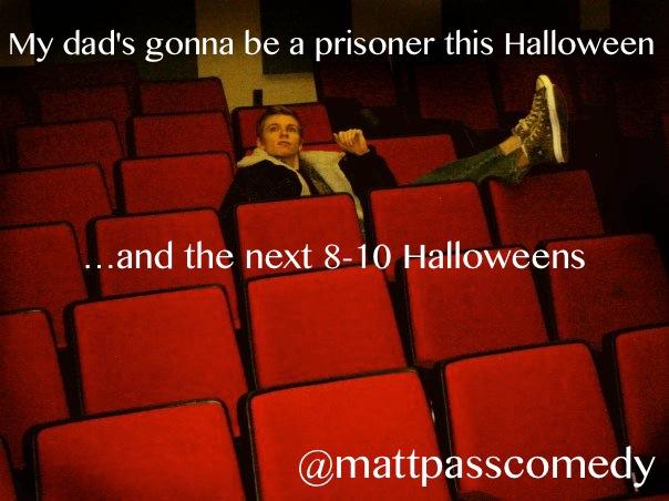 Dad's Halloween costume