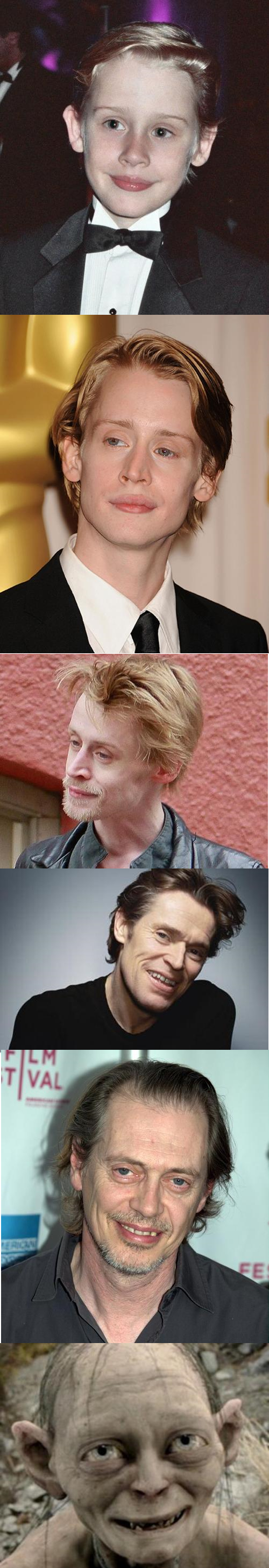 Evolution of Macaulay Culkin