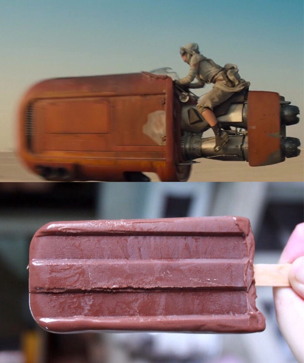 Still from the Star Wars trailer reminded me of something.