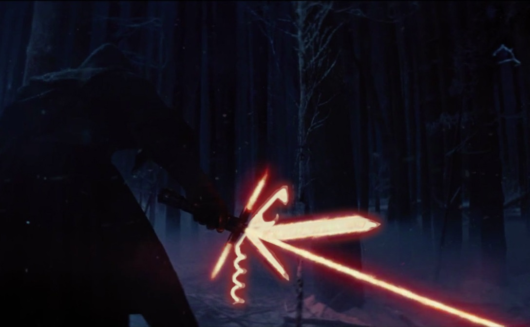 """Early concept from Star Wars: The Force Awakens. The """"""""Sith Army Knife"""""""