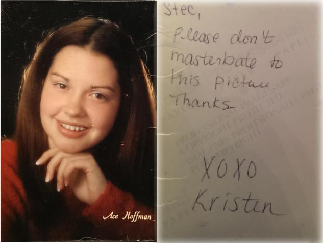 Unsure what to write on the back of your senior pictures?
