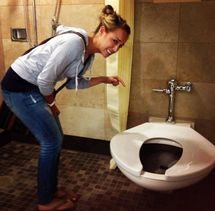 Only in USA.. big boned toilets..
