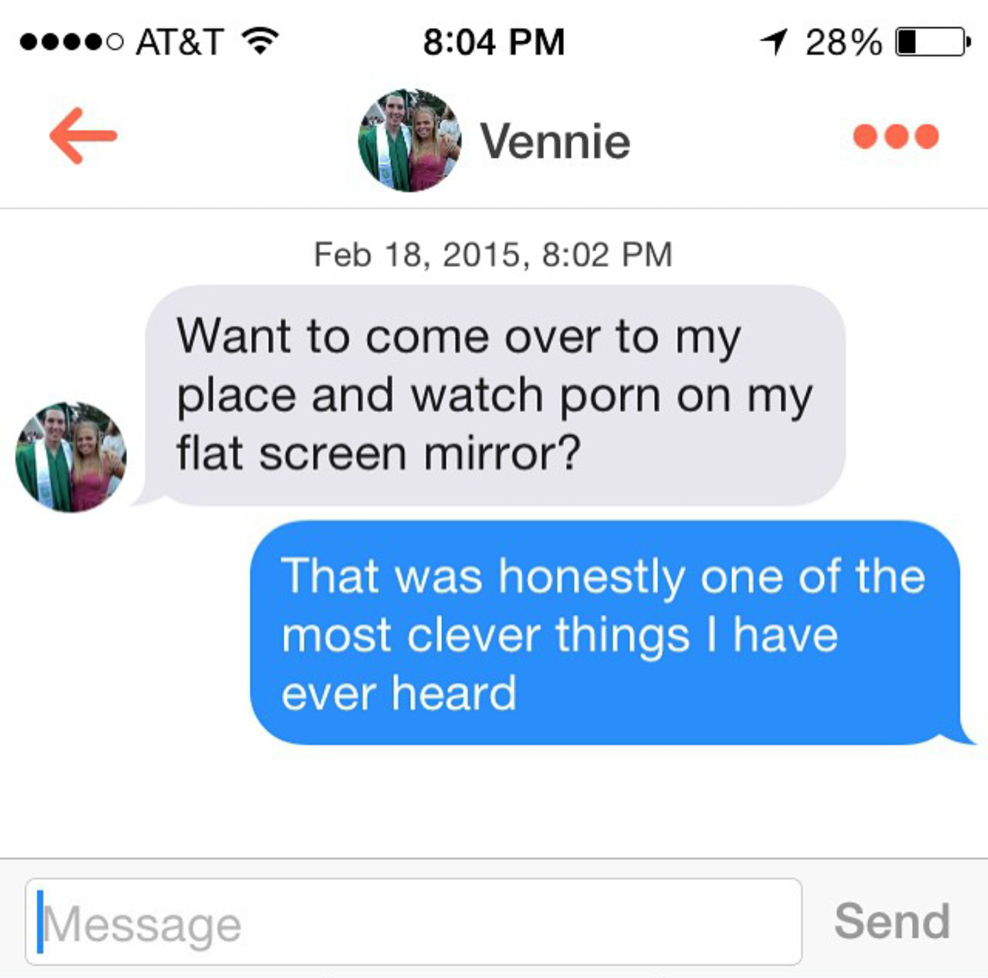 Funny Pick Up Line For Online Dating