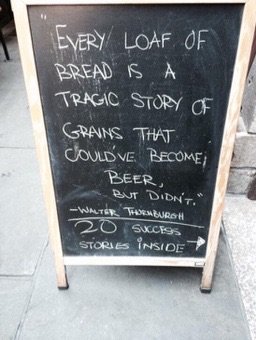 Tragic story of bread