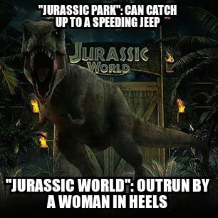 Bad Luck T-Rex