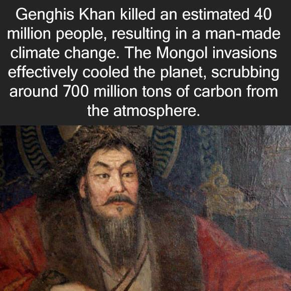 Good guy Genghis