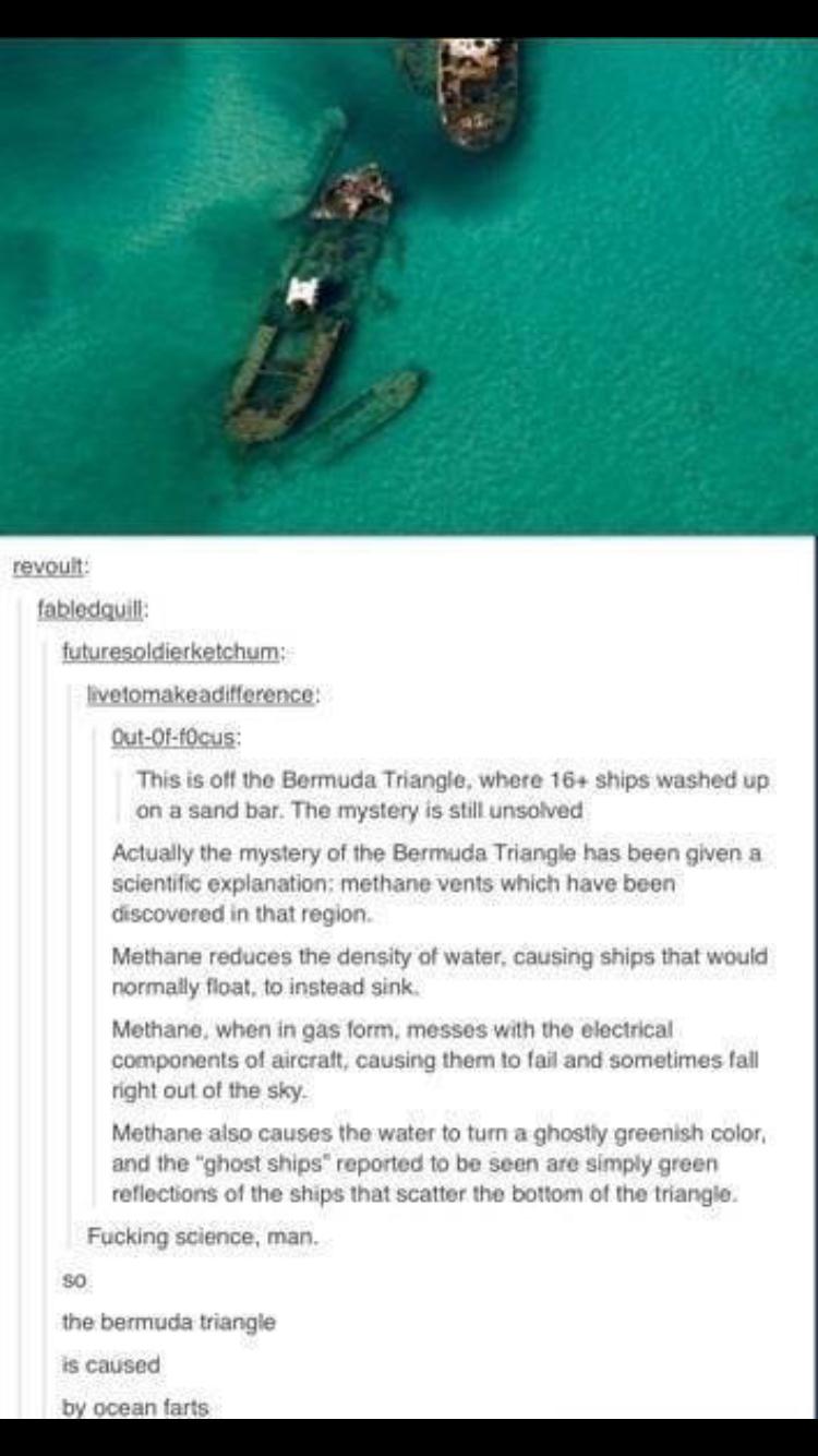 Ocean farts