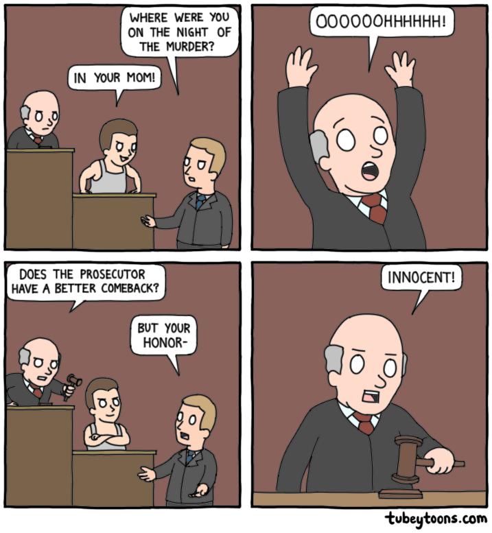 My kind of judge