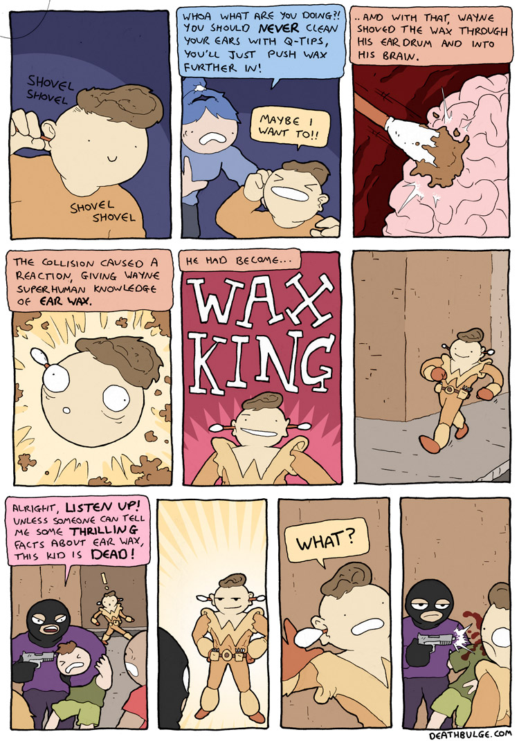 Behold the wax king