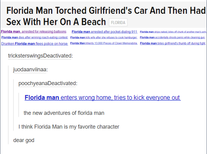 florida man is living the dream