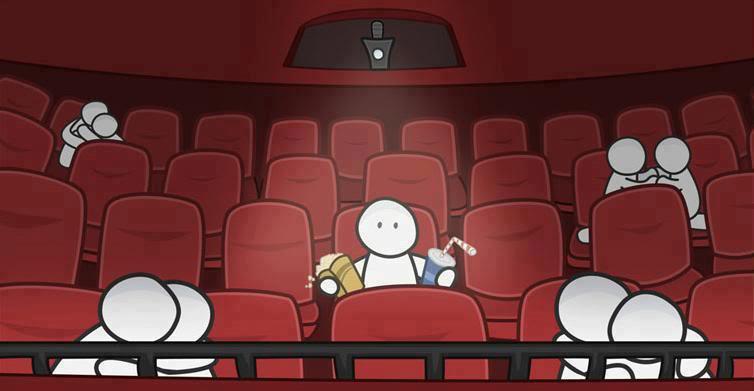 Пошли в кино смешные картинки