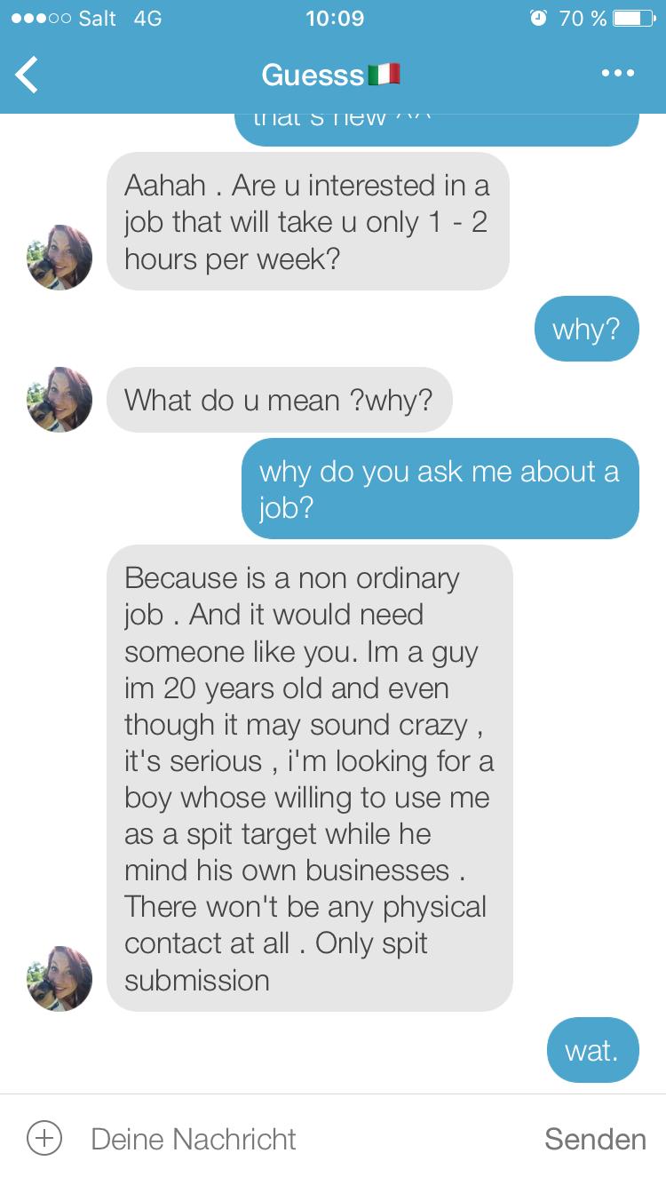 1 nachricht dating