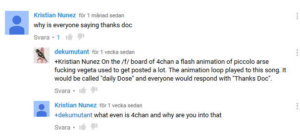 Youtube comments never cease to amuse me