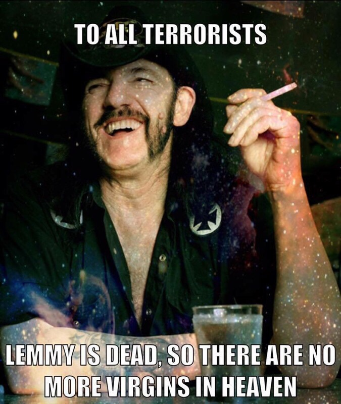Public Service Announcement for terrorists