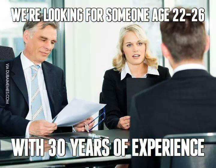 Applying to a job like...