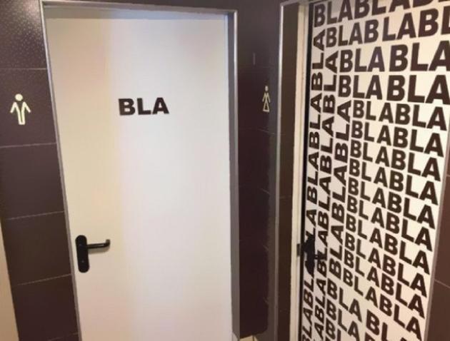 Men's and Women's Restroom