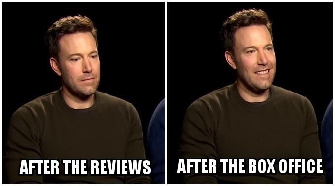 Sad Affleck No More!